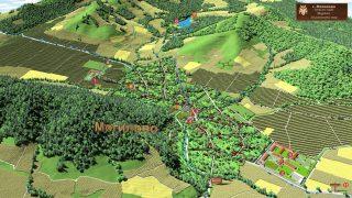 3D карта на лозаро-винарски район